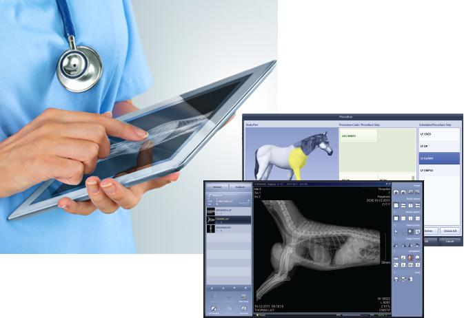 Veterinary X-Ray Software